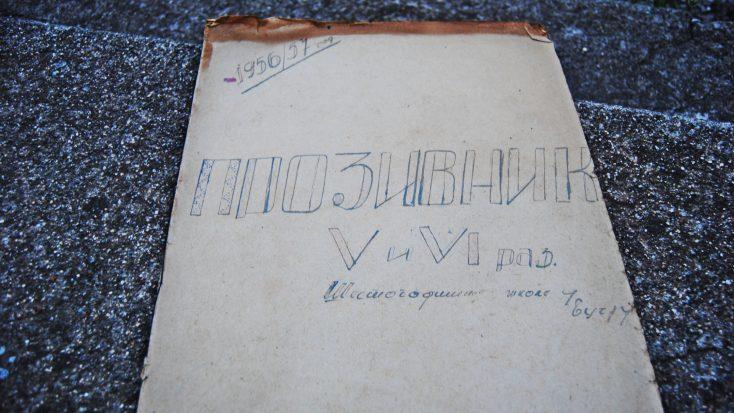 Stari dnevnik